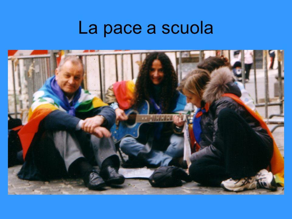 La pace a scuola