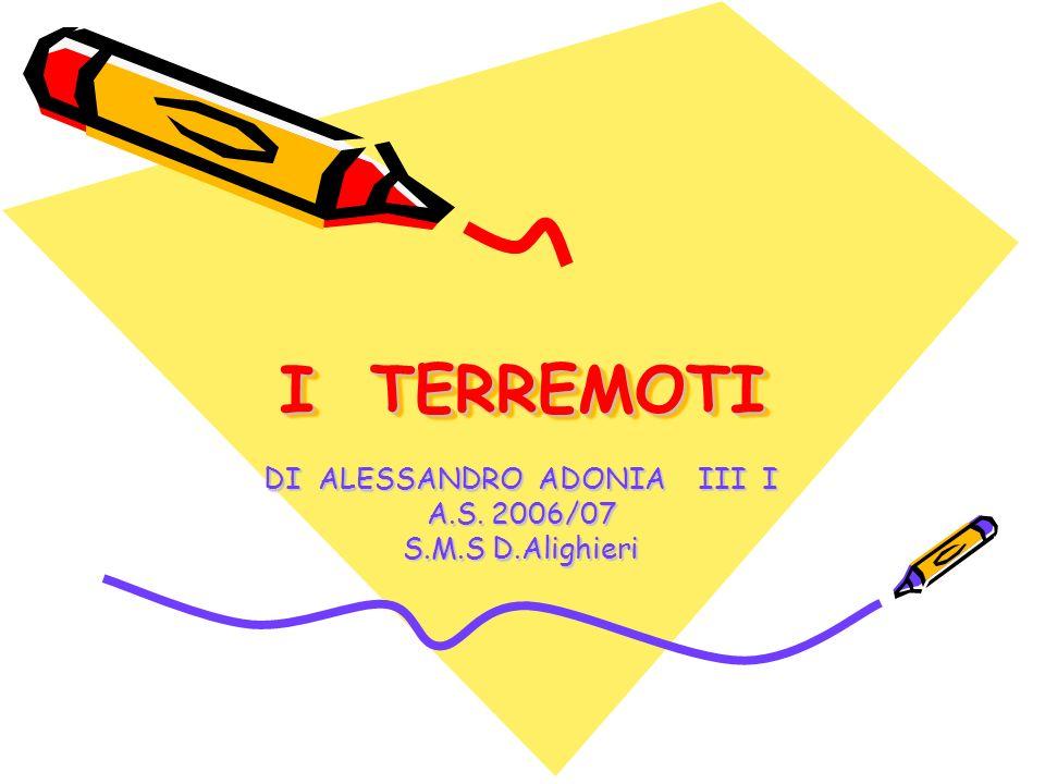 DI ALESSANDRO ADONIA III I A.S. 2006/07 S.M.S D.Alighieri