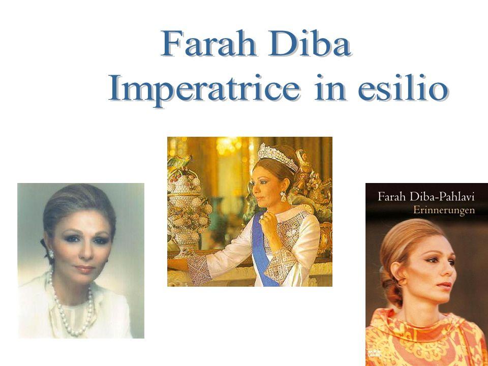 Farah Diba Imperatrice in esilio