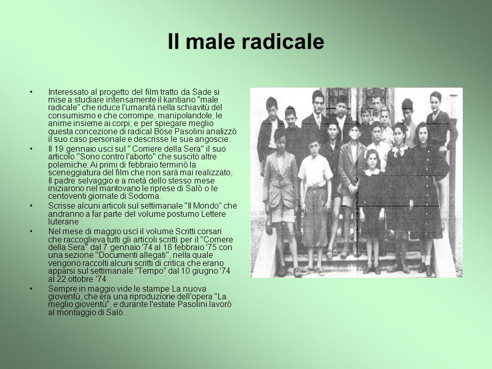 Il male radicale
