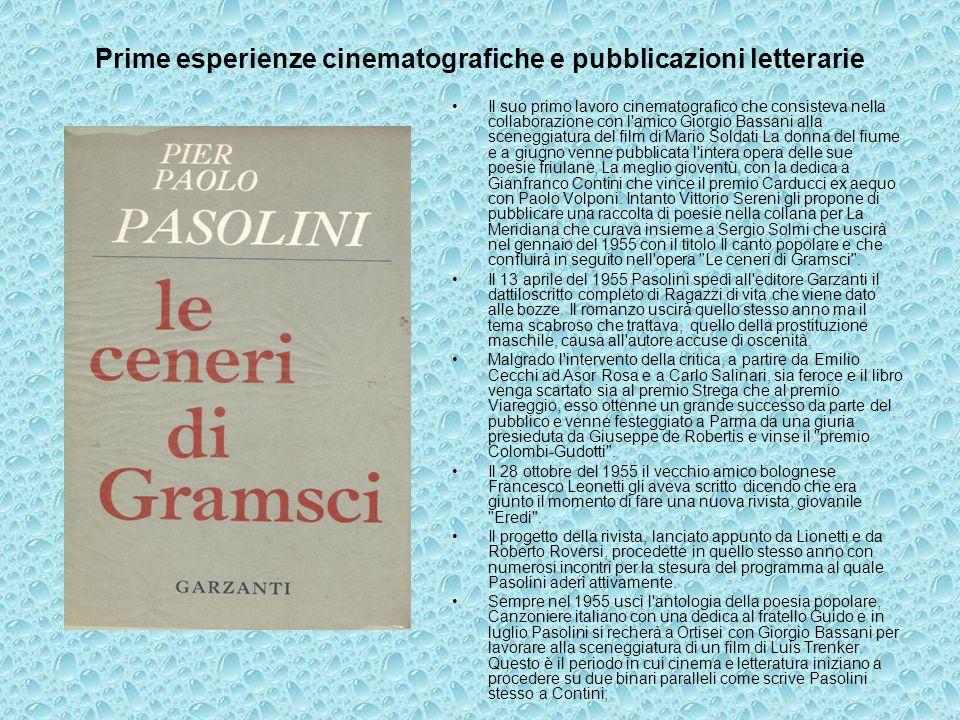 Prime esperienze cinematografiche e pubblicazioni letterarie