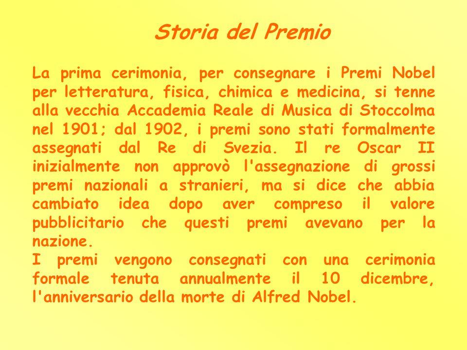 Storia del Premio