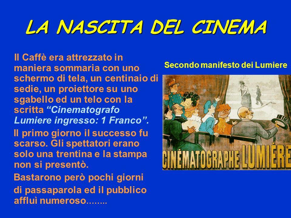 LA NASCITA DEL CINEMA