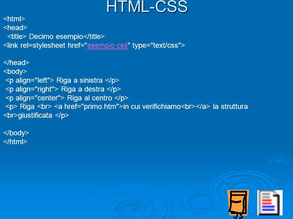 HTML-CSS <html> <head>