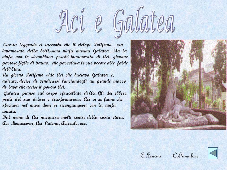 Aci e Galatea C.Lentini C.Famulari