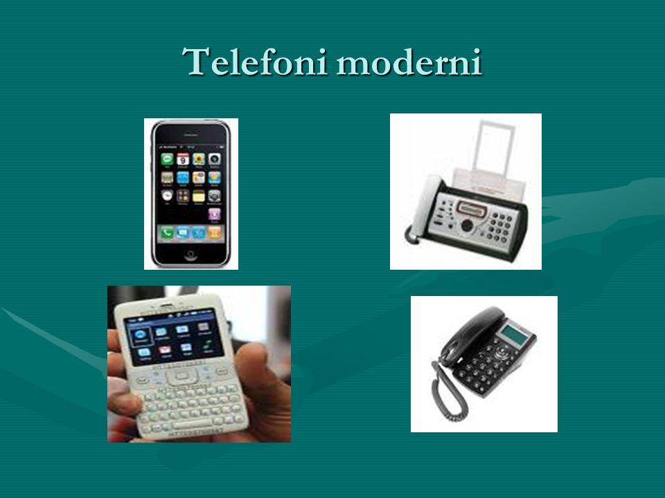 Telefoni moderni