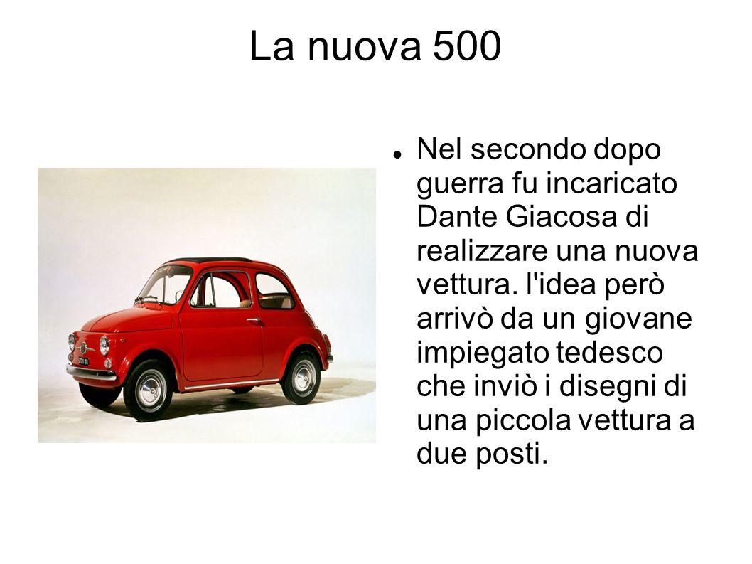 La nuova 500