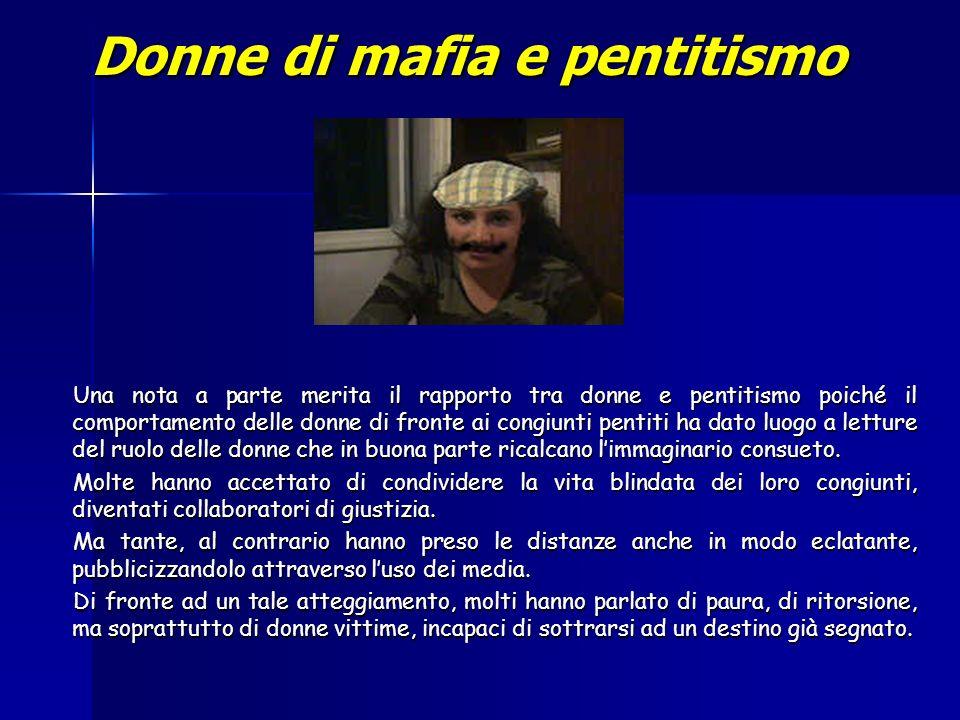 Donne di mafia e pentitismo