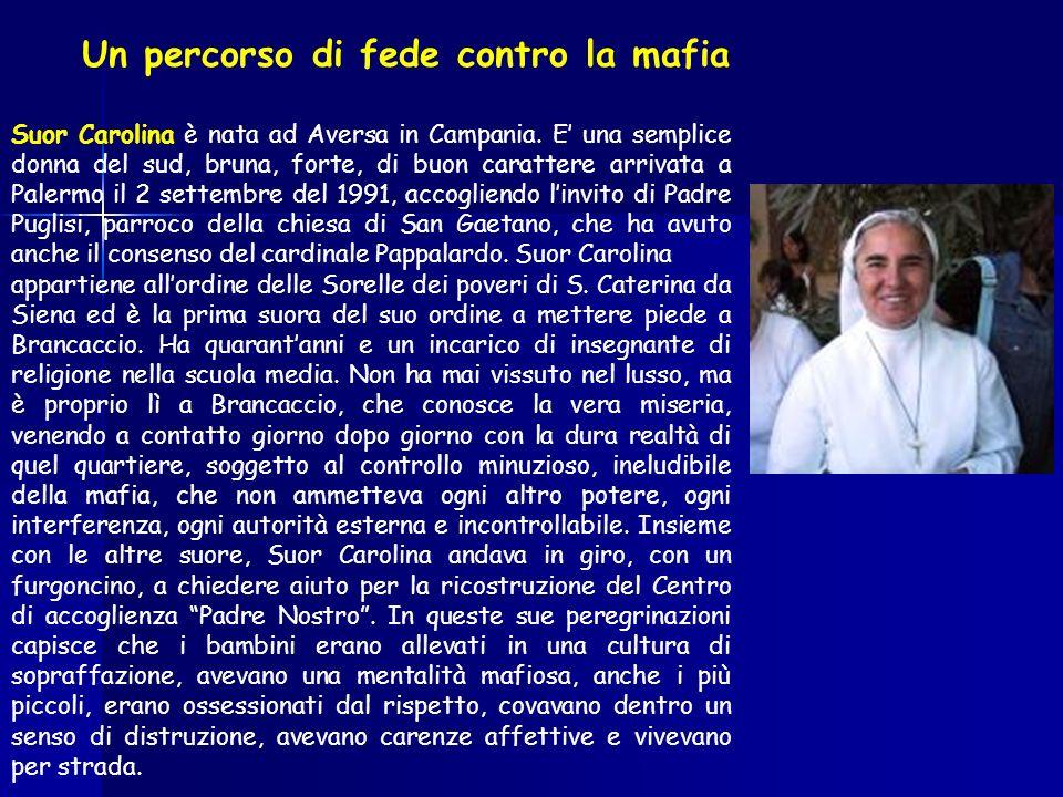 Un percorso di fede contro la mafia