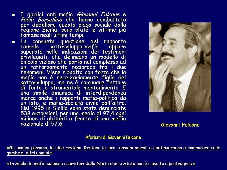 Aforismi di Giovanni Falcone