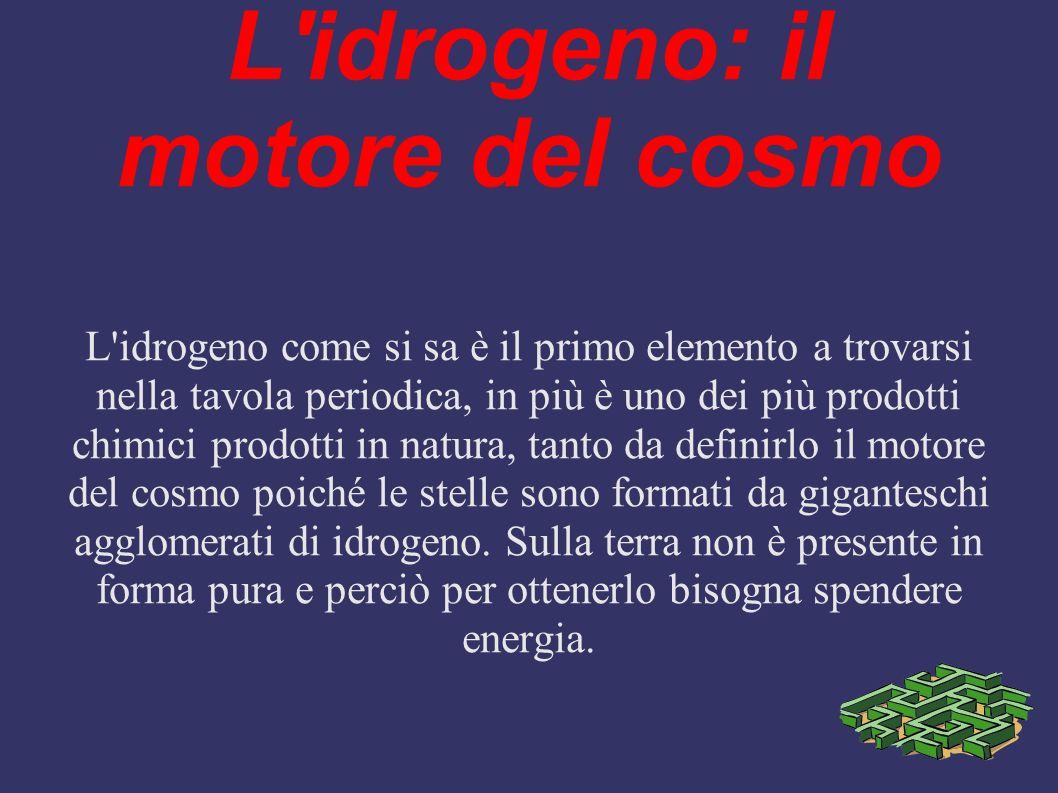 L idrogeno: il motore del cosmo