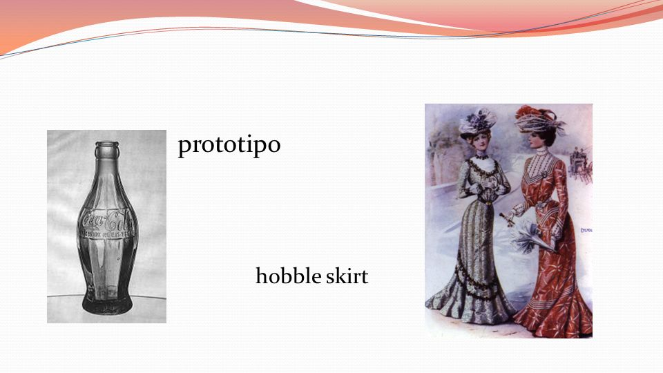 prototipo hobble skirt