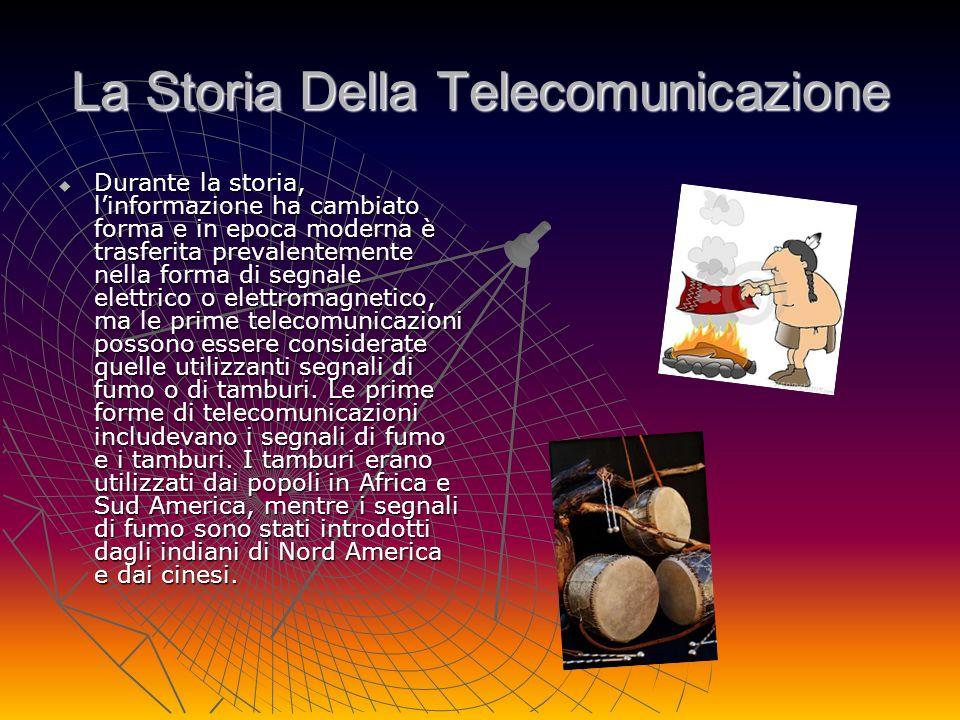 La Storia Della Telecomunicazione