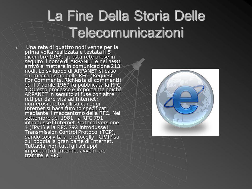 La Fine Della Storia Delle Telecomunicazioni