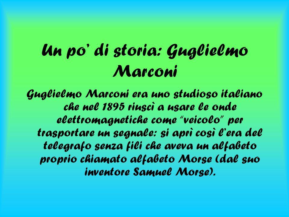 Un po' di storia: Guglielmo Marconi