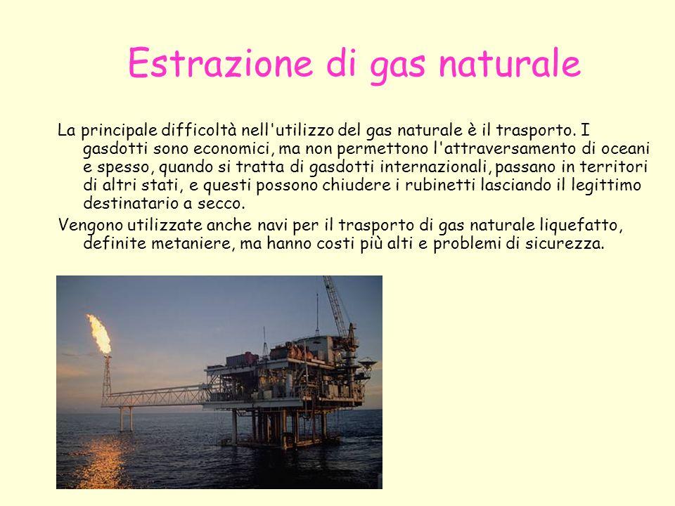 Estrazione di gas naturale