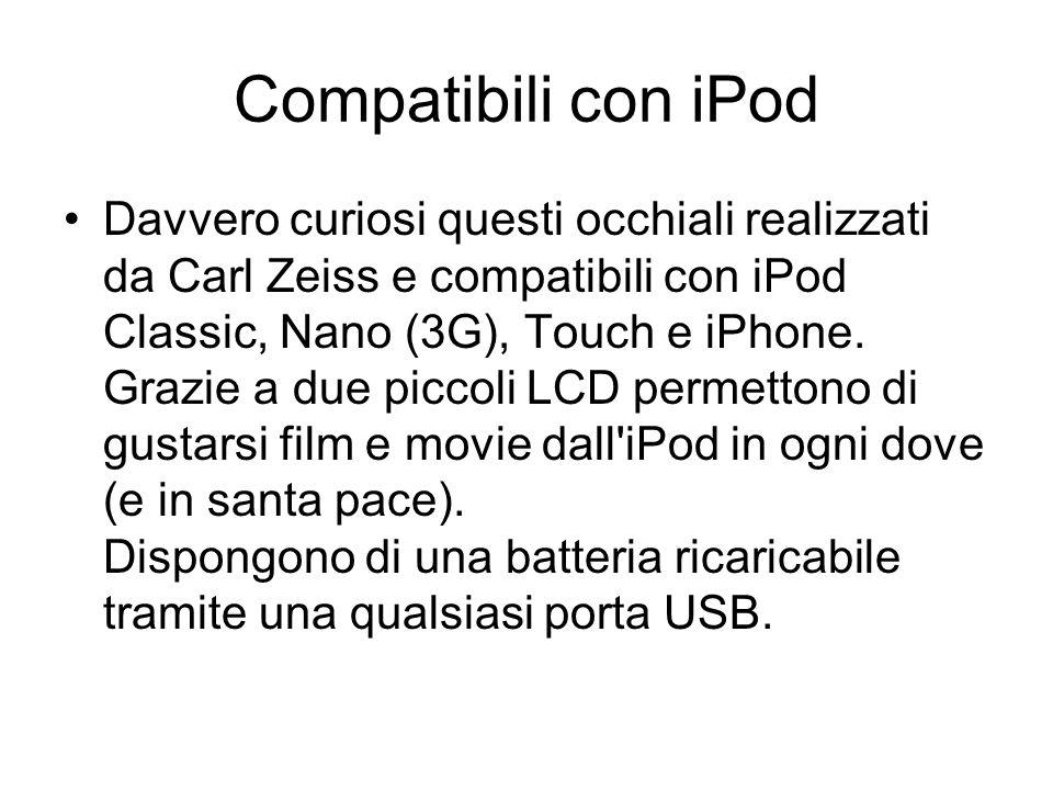 Compatibili con iPod