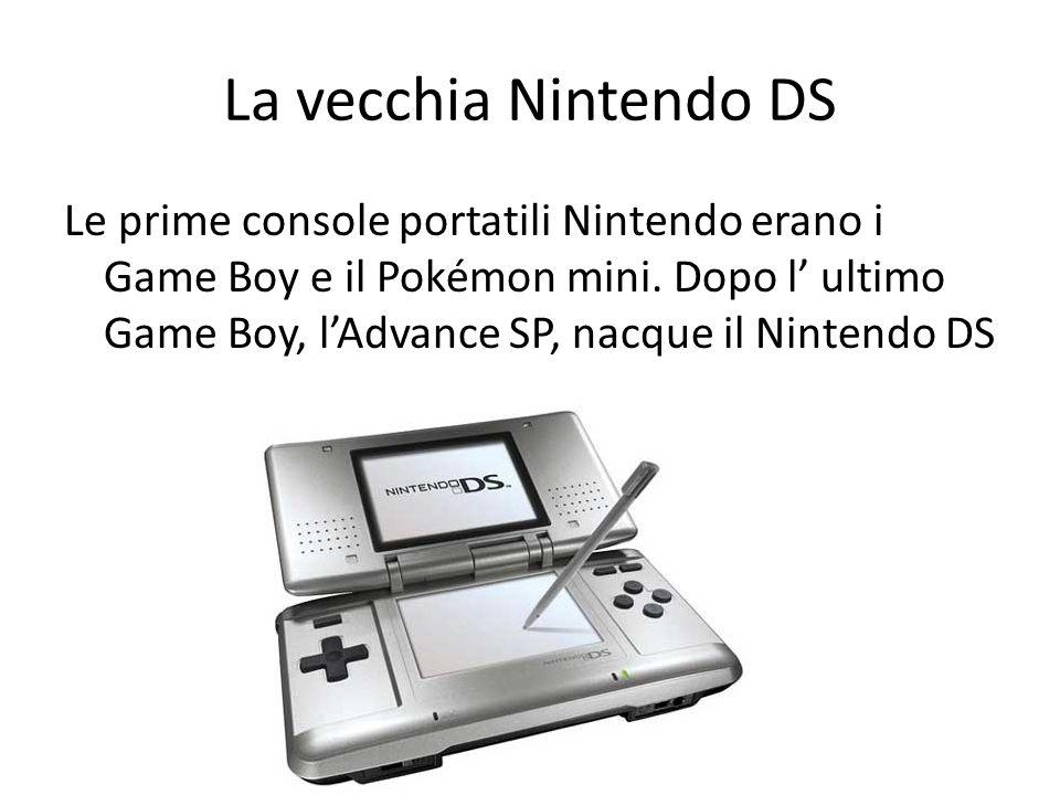 La vecchia Nintendo DS