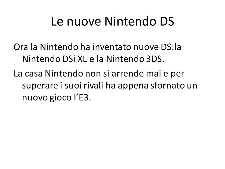 Le nuove Nintendo DS