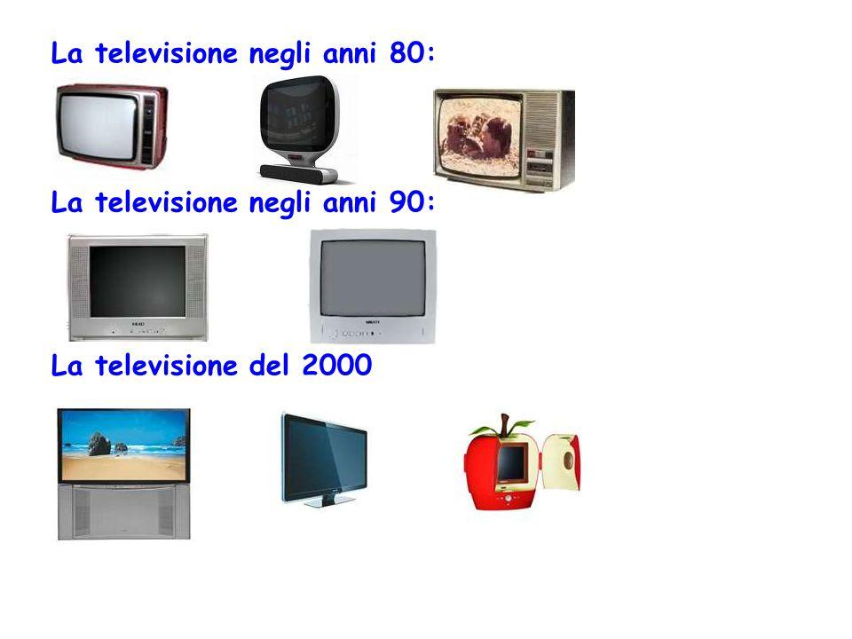 La televisione negli anni 80: