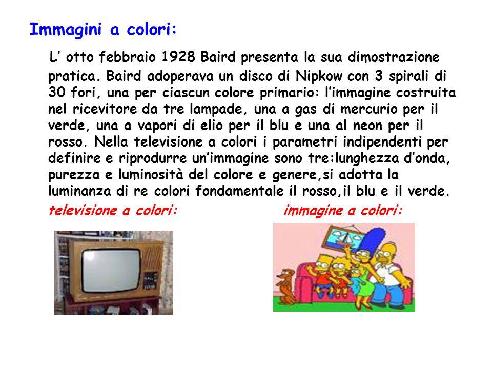 Immagini a colori: