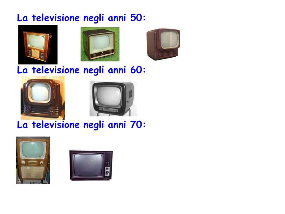 La televisione negli anni 50:
