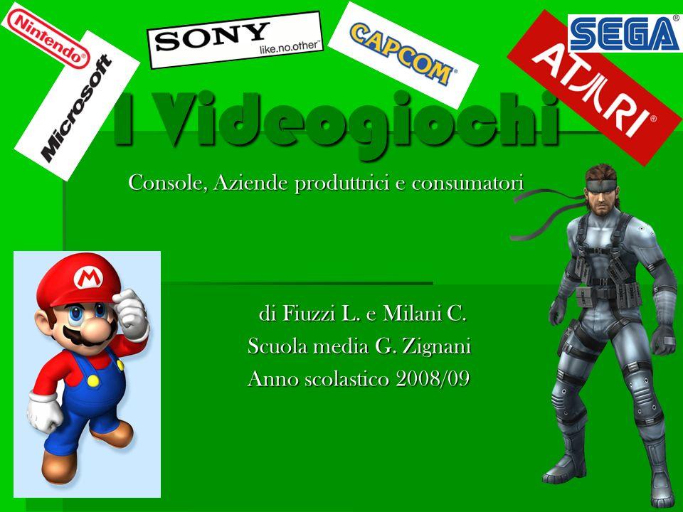 I Videogiochi Console, Aziende produttrici e consumatori