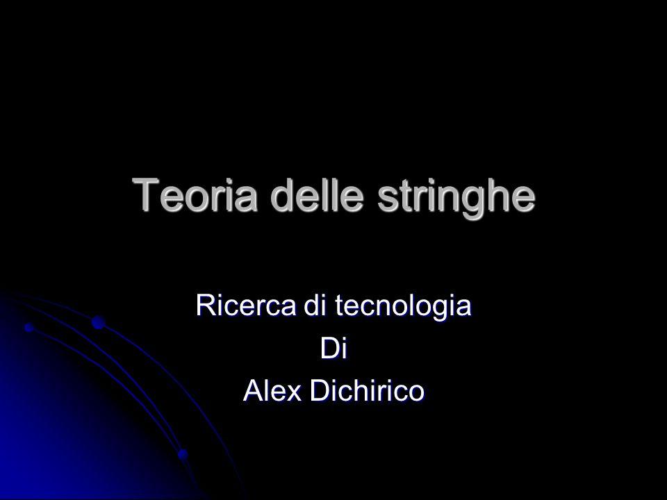Ricerca di tecnologia Di Alex Dichirico