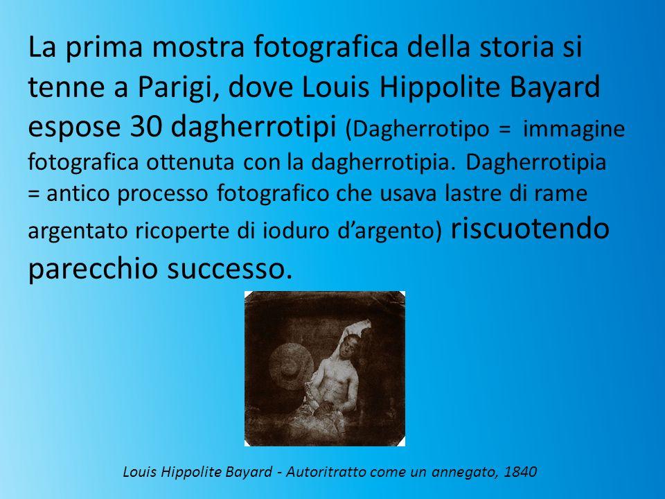 Louis Hippolite Bayard - Autoritratto come un annegato, 1840
