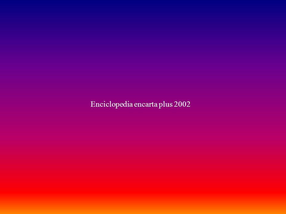 Enciclopedia encarta plus 2002