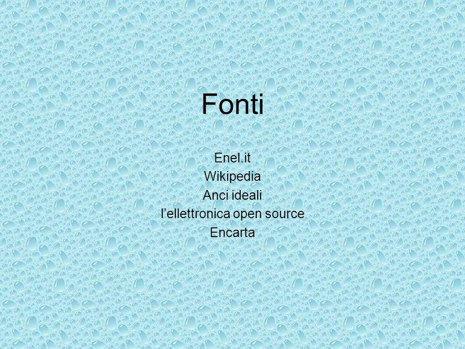 Enel.it Wikipedia Anci ideali l'ellettronica open source Encarta