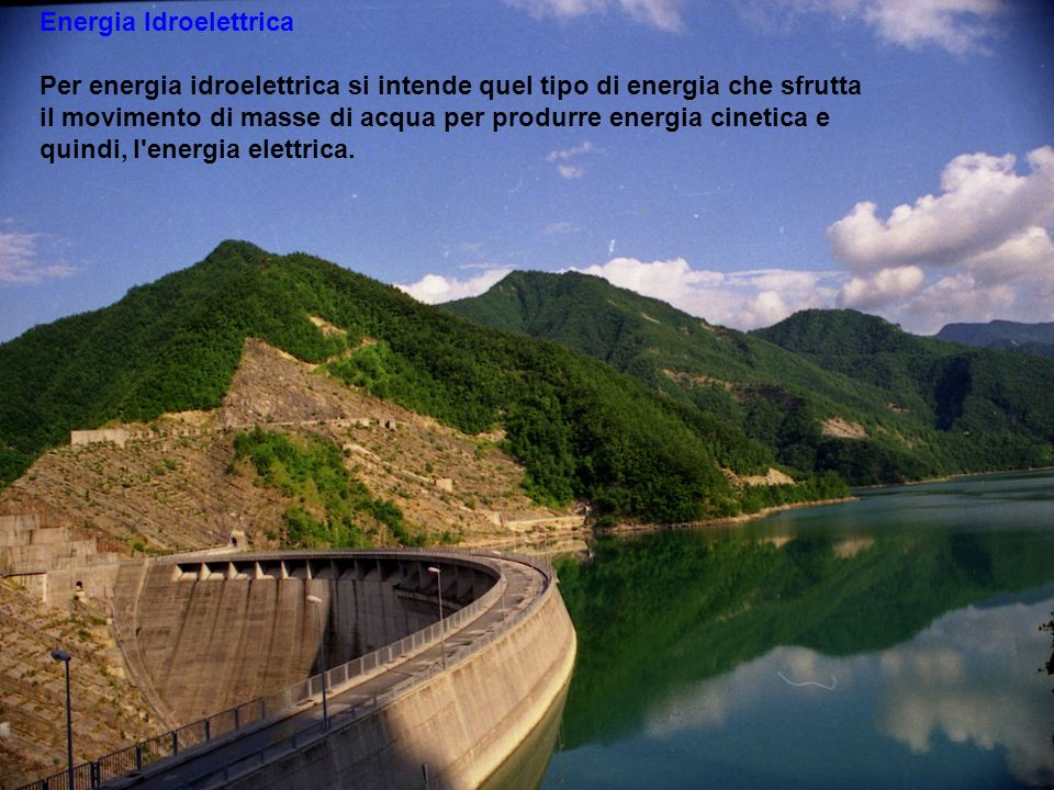 . . Energia Idroelettrica