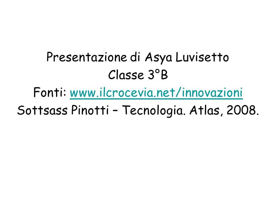 Presentazione di Asya Luvisetto Classe 3°B