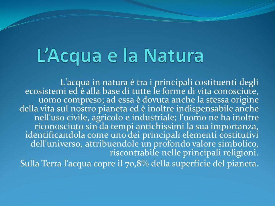 L'Acqua e la Natura