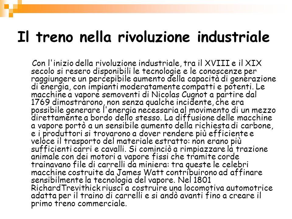 Il treno nella rivoluzione industriale