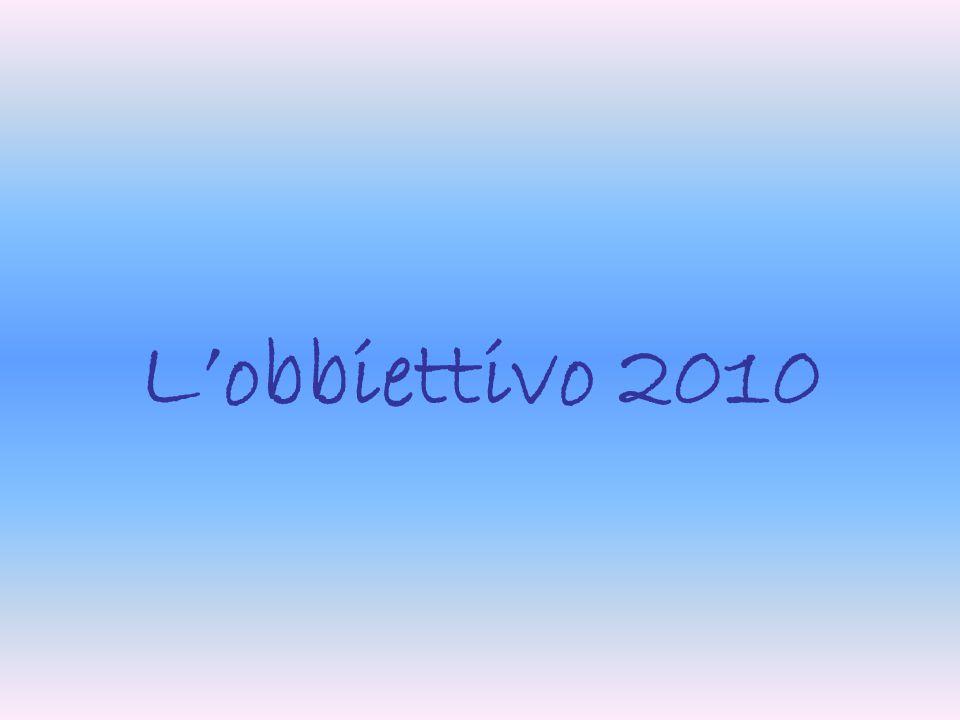 L'obbiettivo 2010