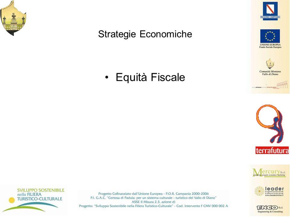 Strategie Economiche Equità Fiscale