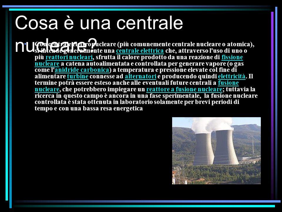 Cosa è una centrale nucleare