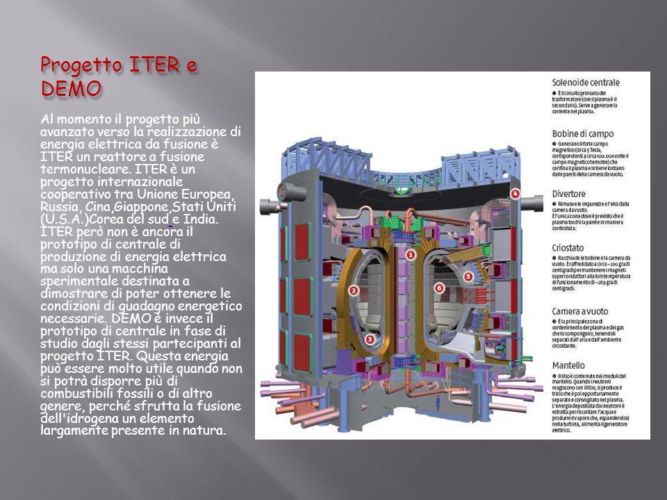 Progetto ITER e DEMO
