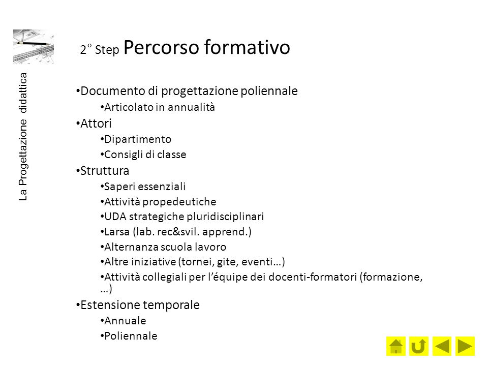 2° Step Percorso formativo