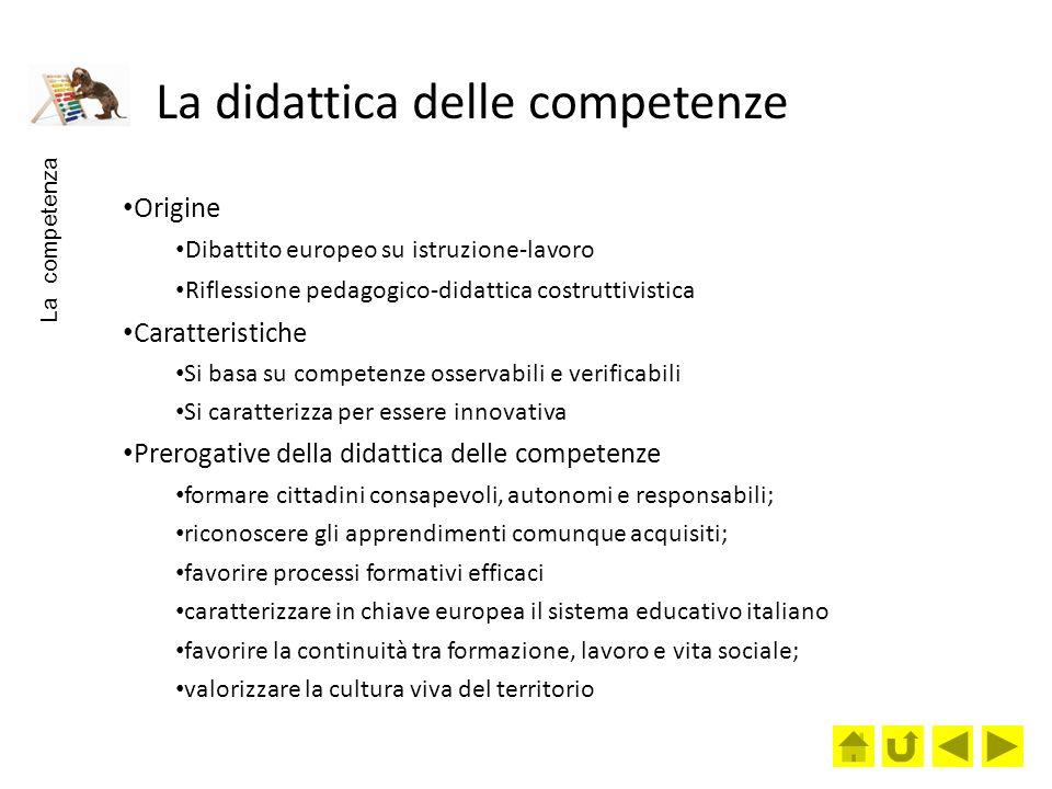 La didattica delle competenze
