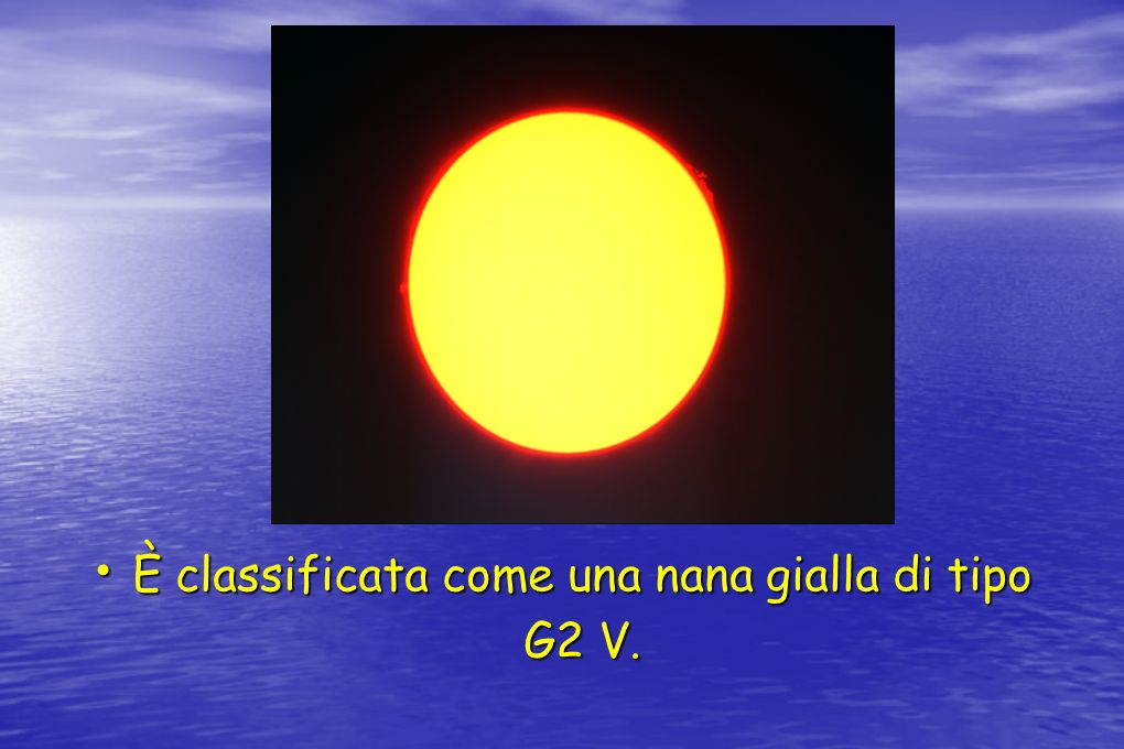 È classificata come una nana gialla di tipo G2 V.