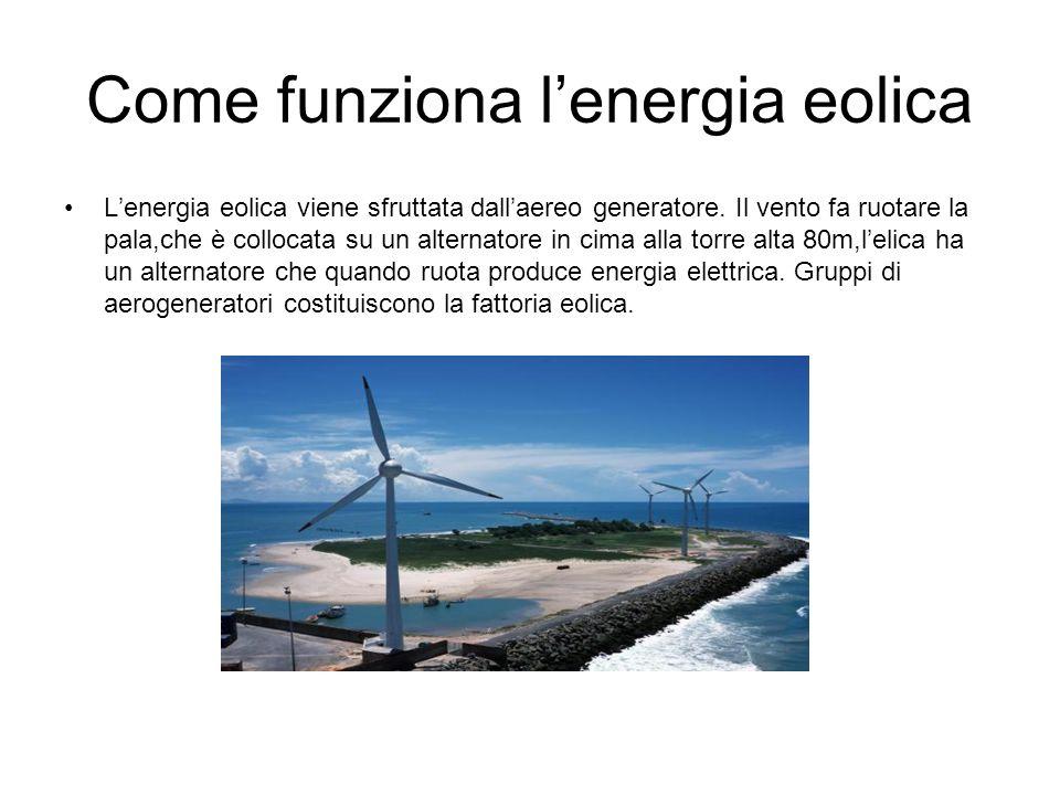 Come funziona l'energia eolica