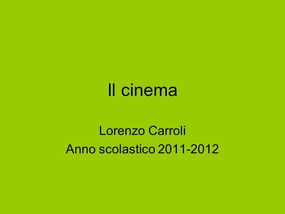 Lorenzo Carroli Anno scolastico 2011-2012