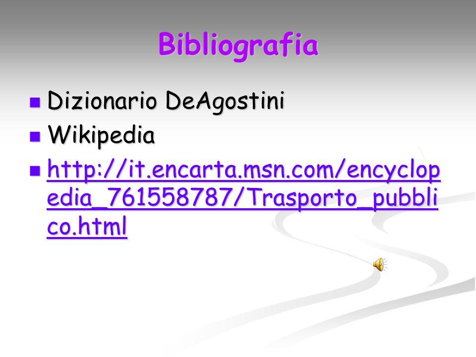 Bibliografia Dizionario DeAgostini Wikipedia