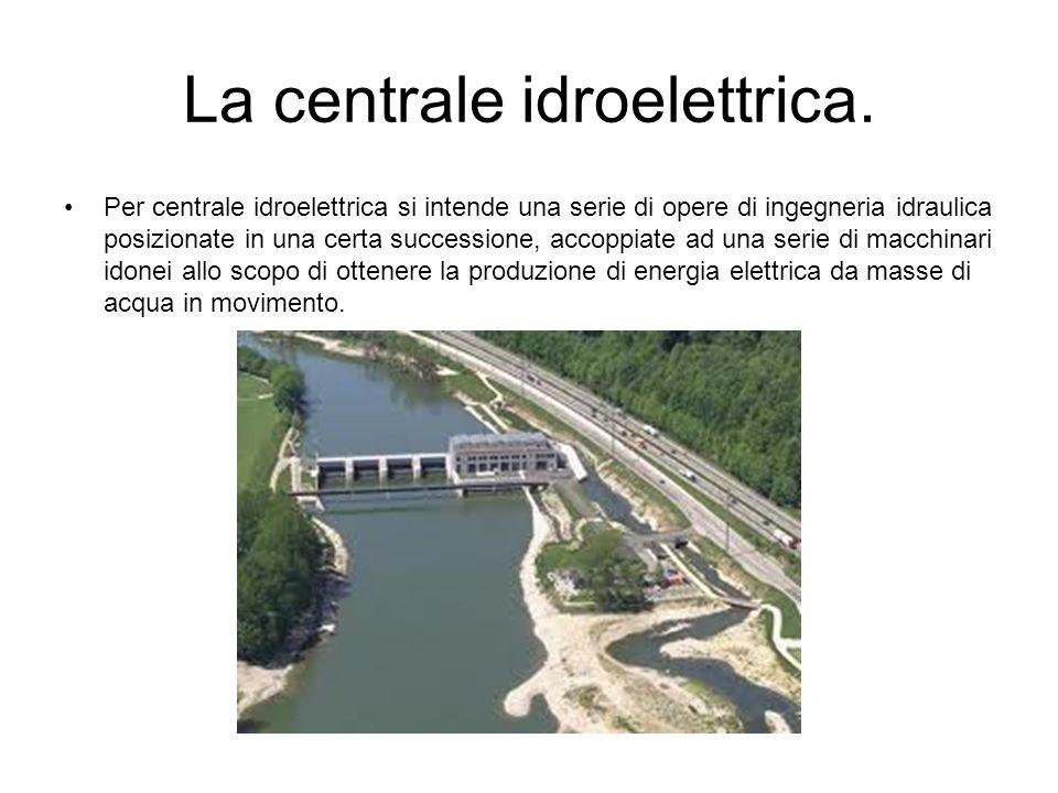 La centrale idroelettrica.