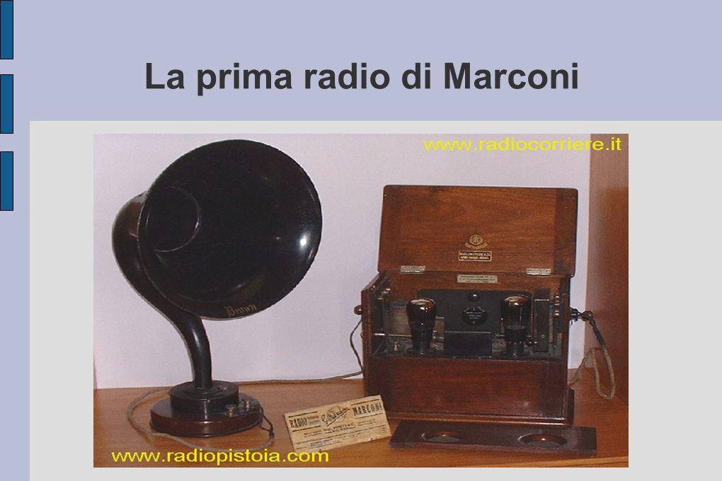 La prima radio di Marconi