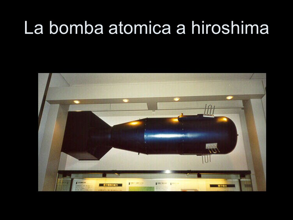 La bomba atomica a hiroshima