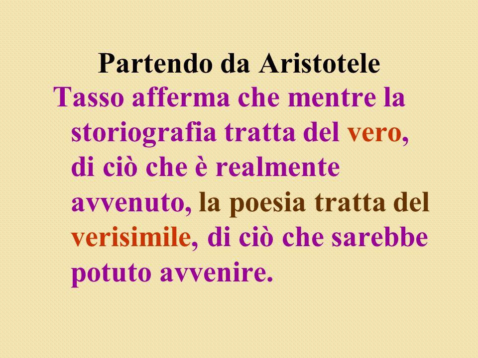 Partendo da Aristotele