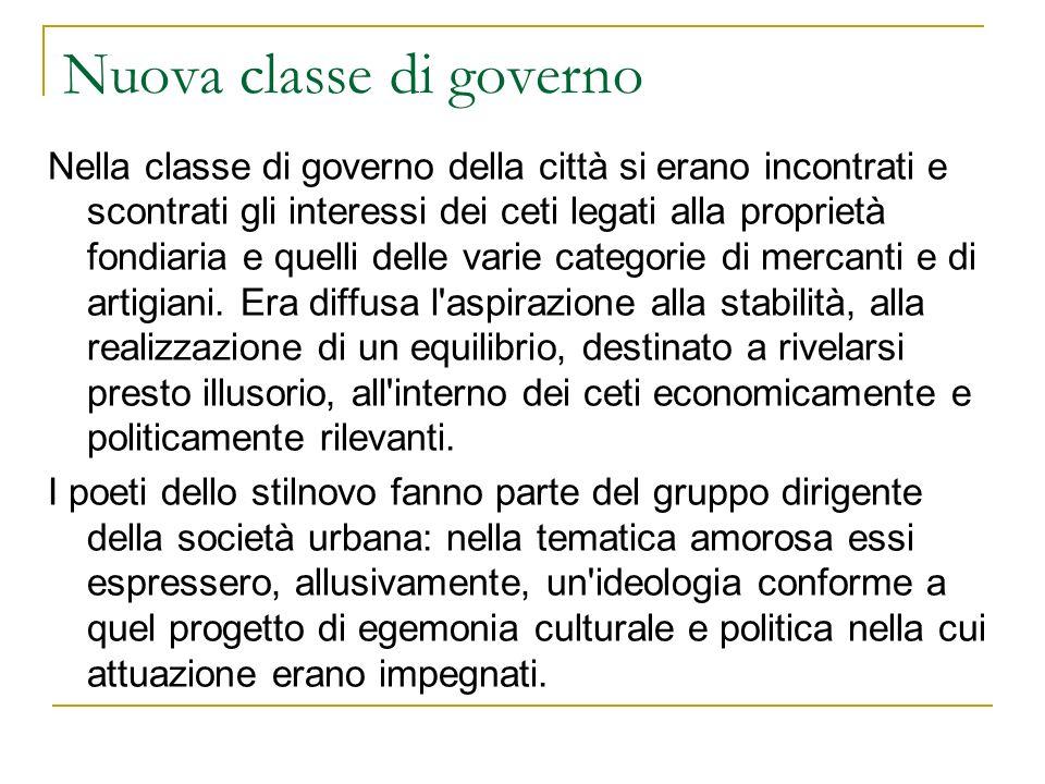 Nuova classe di governo